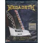 Megadeth‎‎ BRD Blu Ray Rust in peace Live / Universal Music DVD Video ‎Sealed
