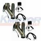 25 Electric Exhaust Downpipe E Cut Out Valve 2 Sets With Controller Remote Kit