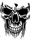 Skull Vinyl Decal -sticker For Car Truck Motorcycle Bumper Wall Window Laptop
