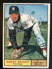 1961 Topps 477 Harry Bright Autographed Card Inscribed Best Wishes