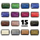 Dovecraft Premium Pigment Ink Stamp Pad CHOOSE FROM 15 COLOURS Craft Stamping