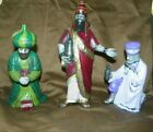 Hand Painted Nativity Christmas 1983 Atlantic Holland Mold Large 3 Wise Men