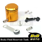 For Ducati StreetFighter S 10-13 Gold CNC Front Brake Cylinder Fluid Oil Tank