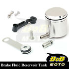 For KTM 1190 RC8 R 08 09 10 11-13 Silver CNC Front Brake Cylinder Fluid Oil Tank