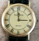 BAUME & MERCIER Baumatic 18K SOLID GOLD 35125 Date Automatic 32mm Mid Size Watch
