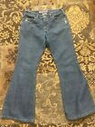 Silver Canada Womens Vintage Flare Bellbottom Jeans sz 31 31