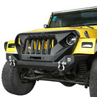 For Jeep Wrangler TJ 97 06 FRONT BUMPER + GRILL Grille w D ring