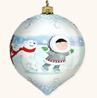 2008 Hallmark Holiday Ball - So Nice Being on Ice - Frosty Friends LPR3411 NIB