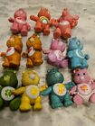 VINTAGE LOT OF 11 1983 1984 CARE BEARS FIGURES KENNER 4 plus accecories