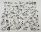 About 100 pcs Antique Silver Charms Pendants for Crafting Jewelry Making