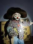 Haunted 17 inch tall CLOWN Doll spirit Vessel Supernatural Paranormal power