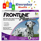 Frontline Plus for Dogs Large Dog45 88 lbsFlea and Tick Treatment6 Doses