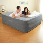 Air Bed Mattress Queen Size 22 with Built In Electric Pump Raised Aerobed Intex