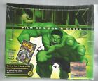 2003 Upper Deck Hulk Film And Comic Card Factory Sealed Wax Box 24 5 Card Packs