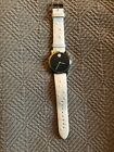 Movado Museum Watch - New Battery 84 G1 1852 Limited Edition White Ostrich Band
