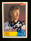 ROBIN YOUNT 1083 TOPPS AUTOGRAPHED SIGNED AUTO BASEBALL CARD 389