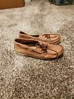 Sperry TopSider Boat Shoes Tan Mens 12M