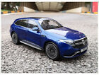 New Mercedes Benz EQC400 2019 Metal Diecast Model Car 118 Scale Blue