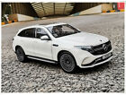 New Mercedes Benz EQC400 2019 Metal Diecast Model Car 118 Scale White