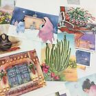 Southwestern Christmas Cards Huge Card Lot Sandstone Sherirene Burrage Native