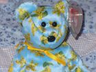 TY BEANIE BABY BEAR - OCKER 2003 - HANG TAG PROTECTED - EXCELLENT CONDITION