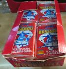 BOX 29 PACKS SCORE 1988 MAJOR LEAGUE BASEBALL PLAYER CARDS AND TRIVIA CARDS
