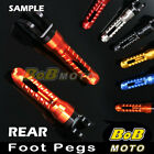 For Honda CB1300 / S 03 04 05 06 07 08 BoB 6 COLOR CNC Rear Foot pegs