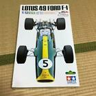 TAMIYA 1:12 SCALE Lotus 49 Ford Plastic Model