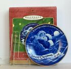 Hallmark Keepsake Ornament A Visit From St Nicholas Collector's Plate 2000 NEW