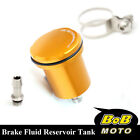 For Monster 800 1000 900 All Gold Racing CNC Rear Brake Fluid Reservoir Tank