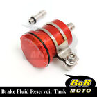 For BMW F800S 2006-2010 Red Racing CNC Rear Brake Fluid Reservoir Tank