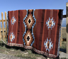 Native Navajo Indian Rug Aztec Cotton Throw Bedcover Blanket Wall Tapestry KILIM