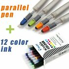 Parallel Pen Gothic Arabic Calligraphy 12 Color Ink Cartridges 15 24 38 60mm