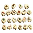 22Style Rubber Wooden Stamps Animal Plants Seal Wax Making BEST Stamp For C B9T3