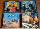 4CD set SINNER ‎- Danger Zone/Touch Of Sin/Comin' Out Fighting/Dangerous Charm