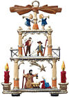 WILHELM SCHWEIZER GERMAN ZINNFIGUREN Nativity Pyramid 2 x 275 High