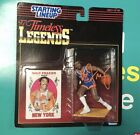 Signed Walt Frazier New York Knicks Timeless Legends 1997 Action Figure Proof