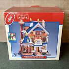 Lemax 2003 Caddington lighted Christmas Village Wick & Sons Candle Shop With Box