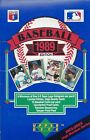 1989 Upper Deck Baseball Hobby Box-High # Series - (2) Box Lot- Griffey Rookies!