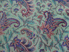 Indian Hand Block Print Cotton Craft Sewing Dressmaking 10 Yard Floral Fabric