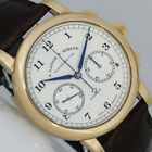 A. LANGE & SÖHNE 1815 FLYBACK CHRONOGRAPH ROTGOLD UHR BOX ZERTIFIKAT R 402.032