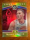 2017-18 PANINI OPTIC BLAKE GRIFFIN # 7 10 GOLD PRIZM COURT KINGS SSP Clippers