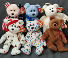 LOT of TY Beanie Babies Seasonal - ANGEL, XMAS, WINTER, STARS AND STRIPES
