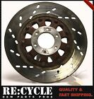 82 Suzuki GS550M Katana Rear Brake Rotor Disc Straight, OEM Orange paint.