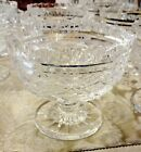 VINTAGE WATERFORD CRYSTAL PERIOD PIECE FOOTED BOWL IRELAND