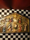 VINTAGE NATIVITY 11 PC SET HAND CRAFTED