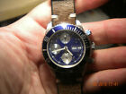 Mens Sterile Seamaster Chronograph with Swiss 25 Jewel 7750 Movement Day Date