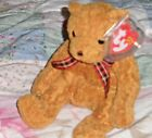 TY BEANIE BABY BEAR - WOODY 2002 - HANG TAG PROTECTED - EXCELLENT CONDITION