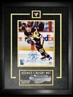 2018-19 Sidney Crosby Autograph Tim Hortons Signed Whit Framed Auto