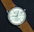omega seamaster crosshair dial vintage watch deville steel automatic